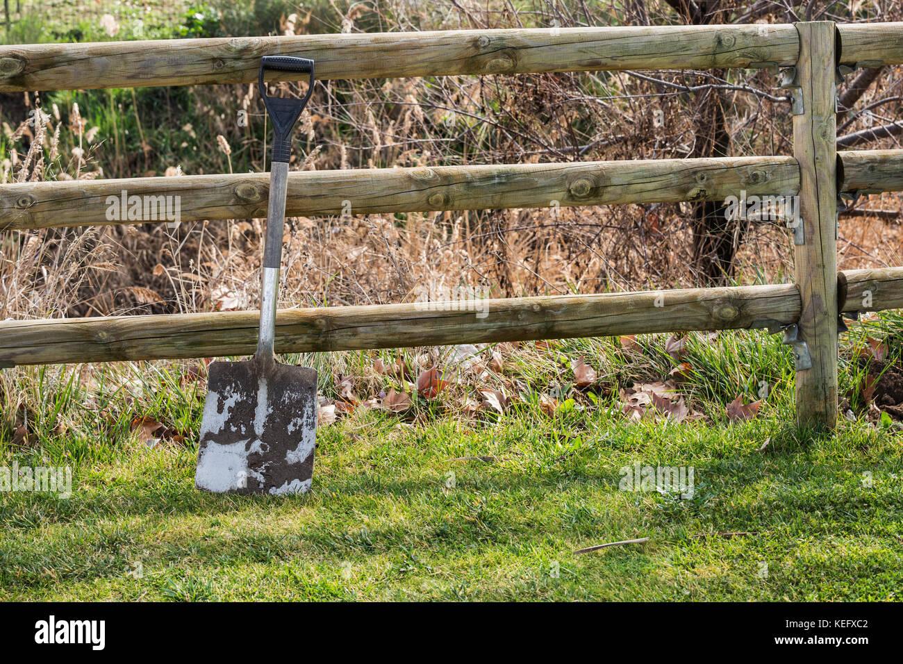 Dirty Spade Stock Photos & Dirty Spade Stock Images - Alamy