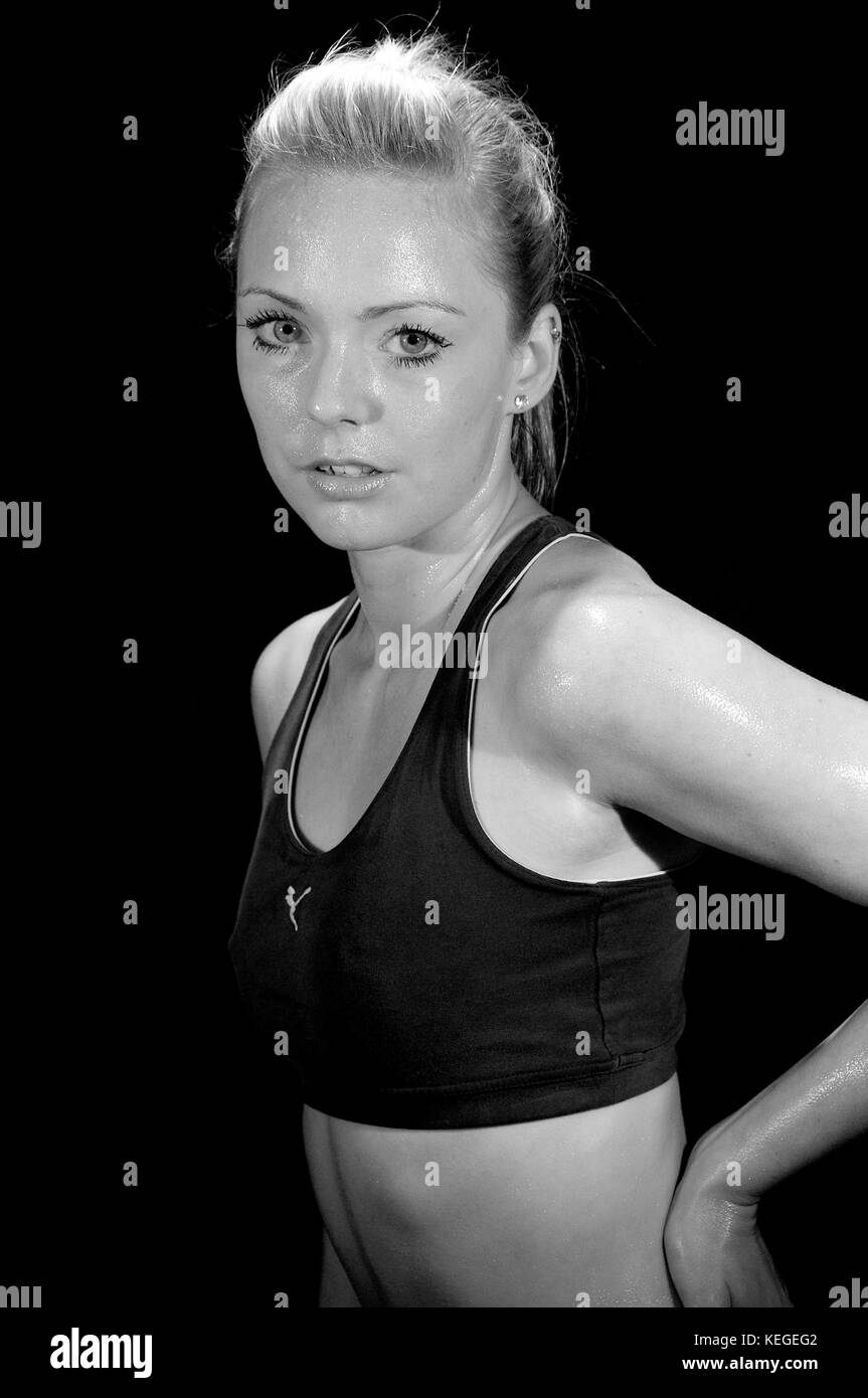 bb9a27d58b30 To Keep Fit Black and White Stock Photos & Images - Alamy