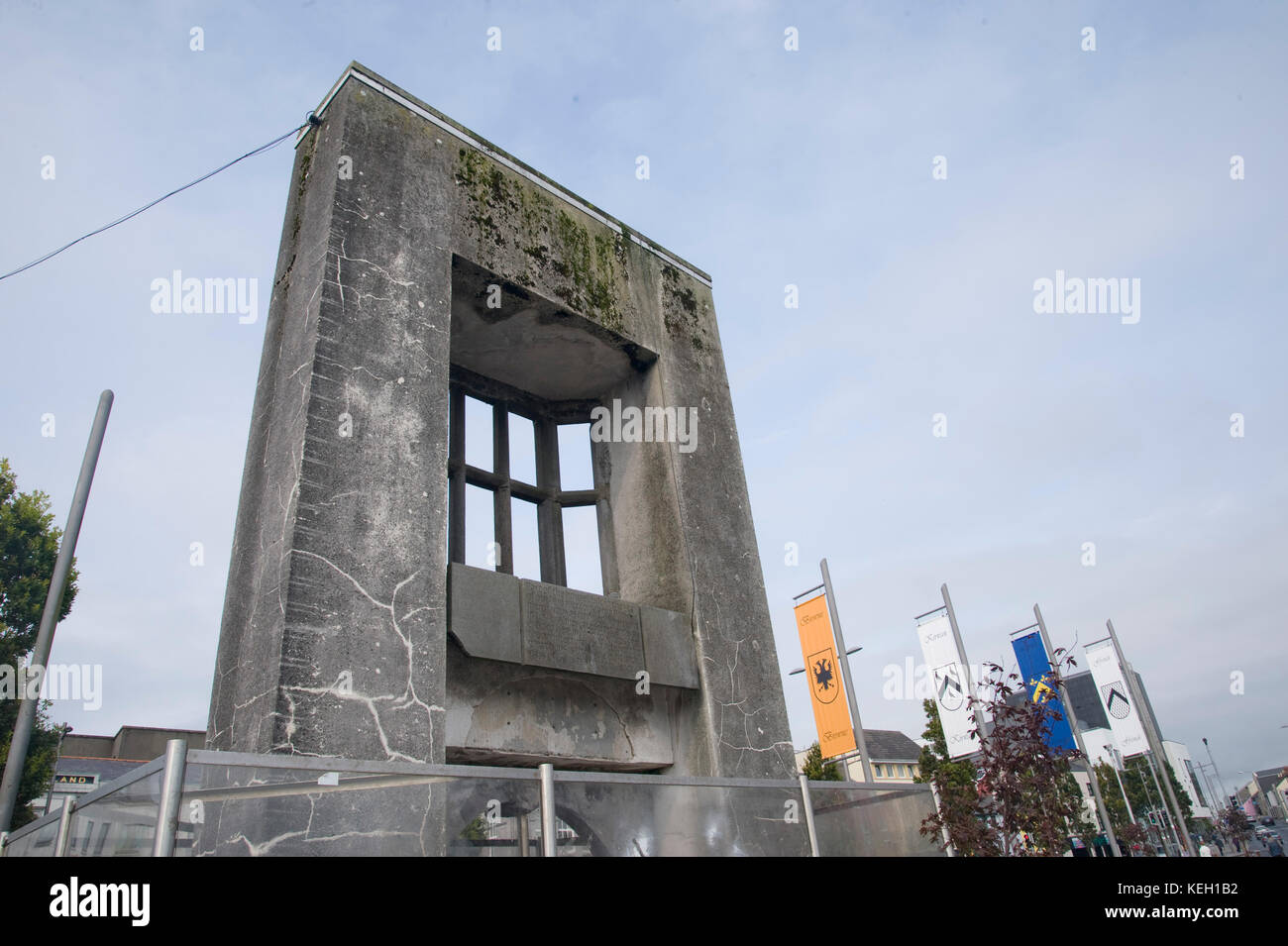 The Browne Doorway, Eyre Square, Galway - Stock Image