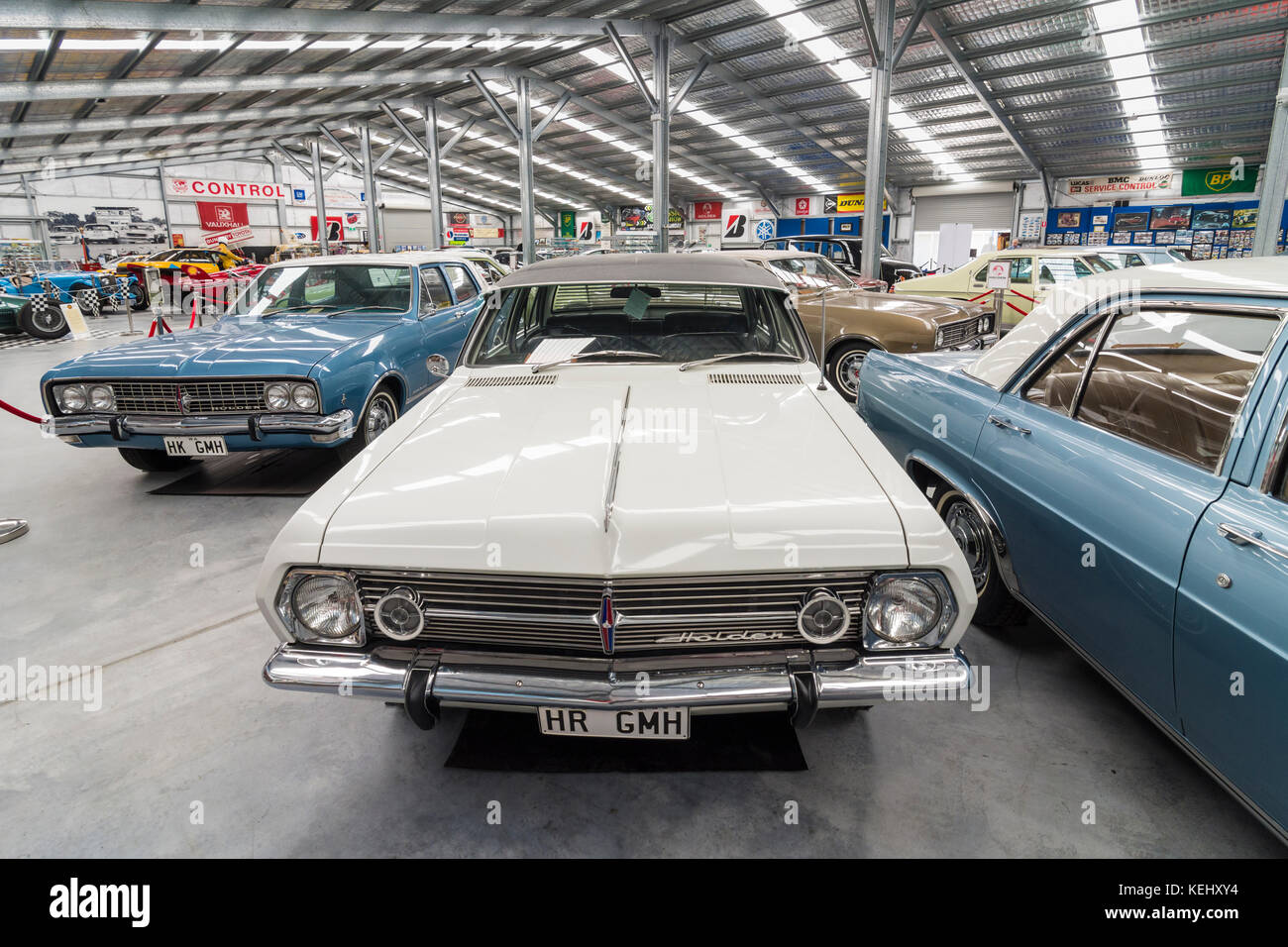 1967 Holden HR Premier, in front of other Holdens at the Motor Museum of WA, Whiteman Park in the Swan Valley, Whiteman, - Stock Image