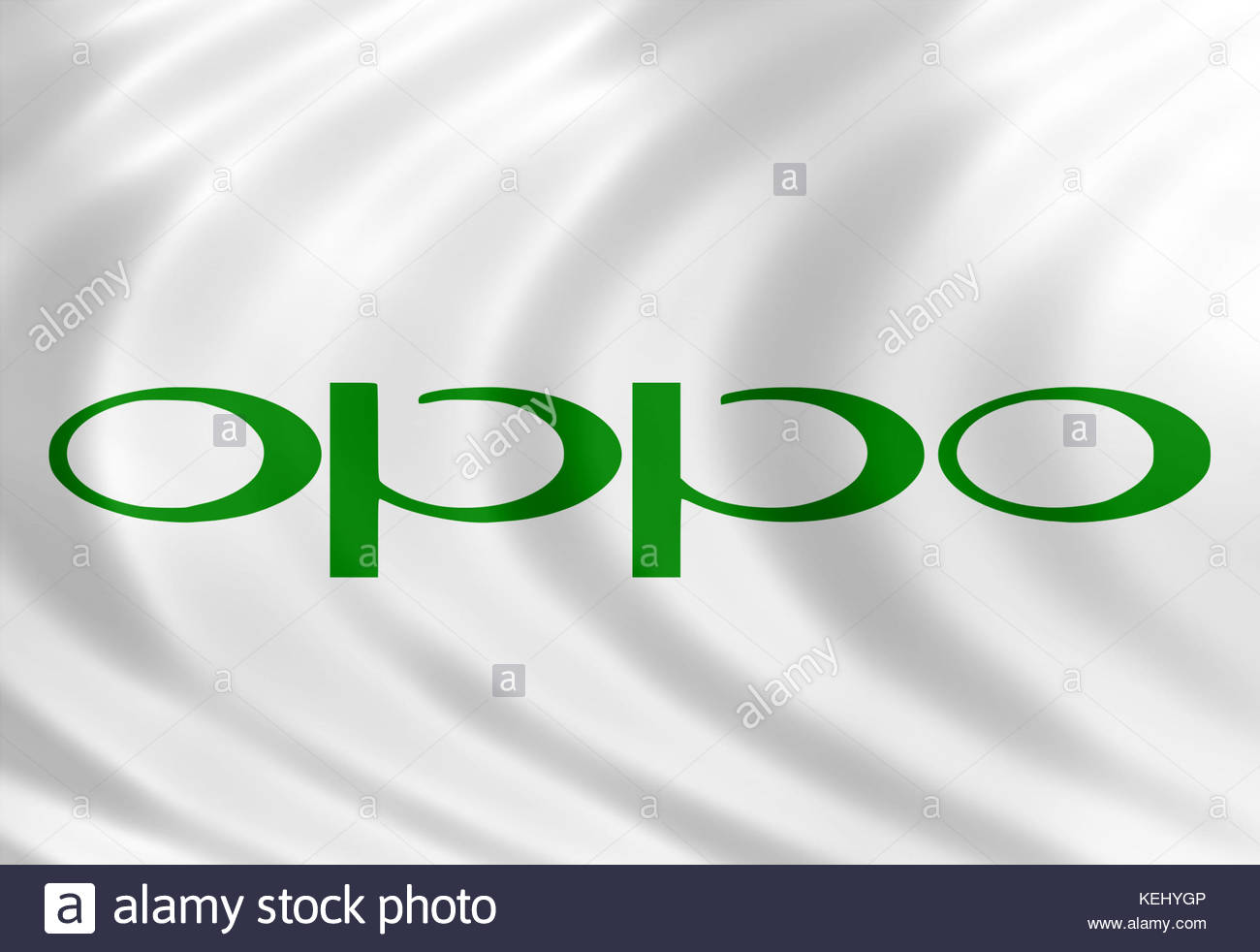 Oppo Electronics icon brand - Stock Image