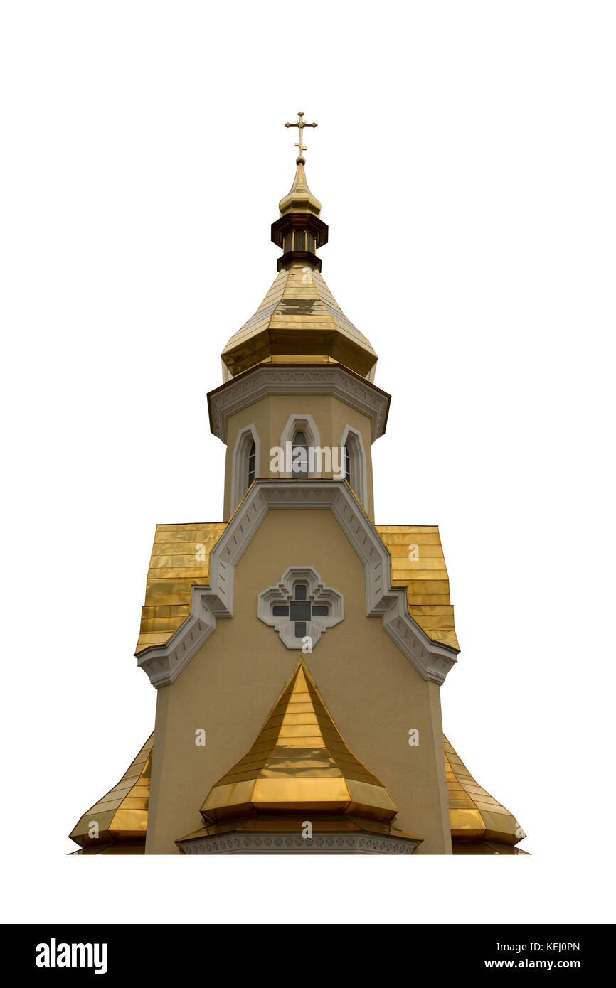 The Dome Church isoleted on white background - Stock Image