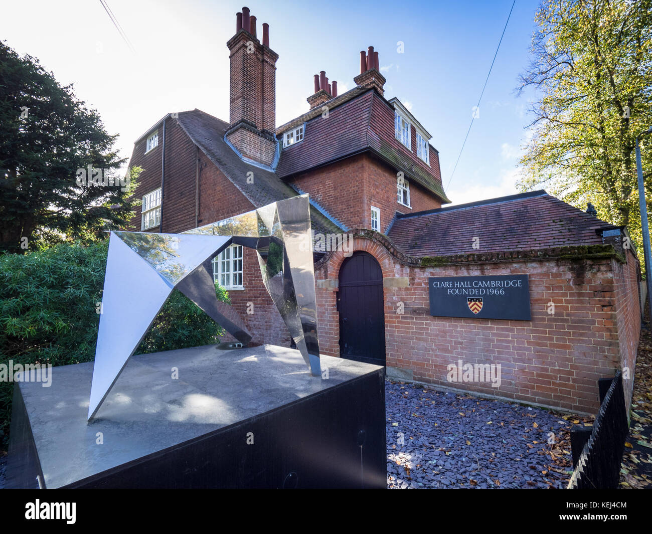 Clare Hall College Cambridge University Founded In 1966 Clare Stock Photo 163897124 Alamy