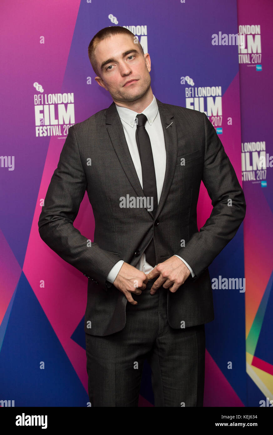 'Good Time' Screening - 61st BFI London Film Festival - Stock Image