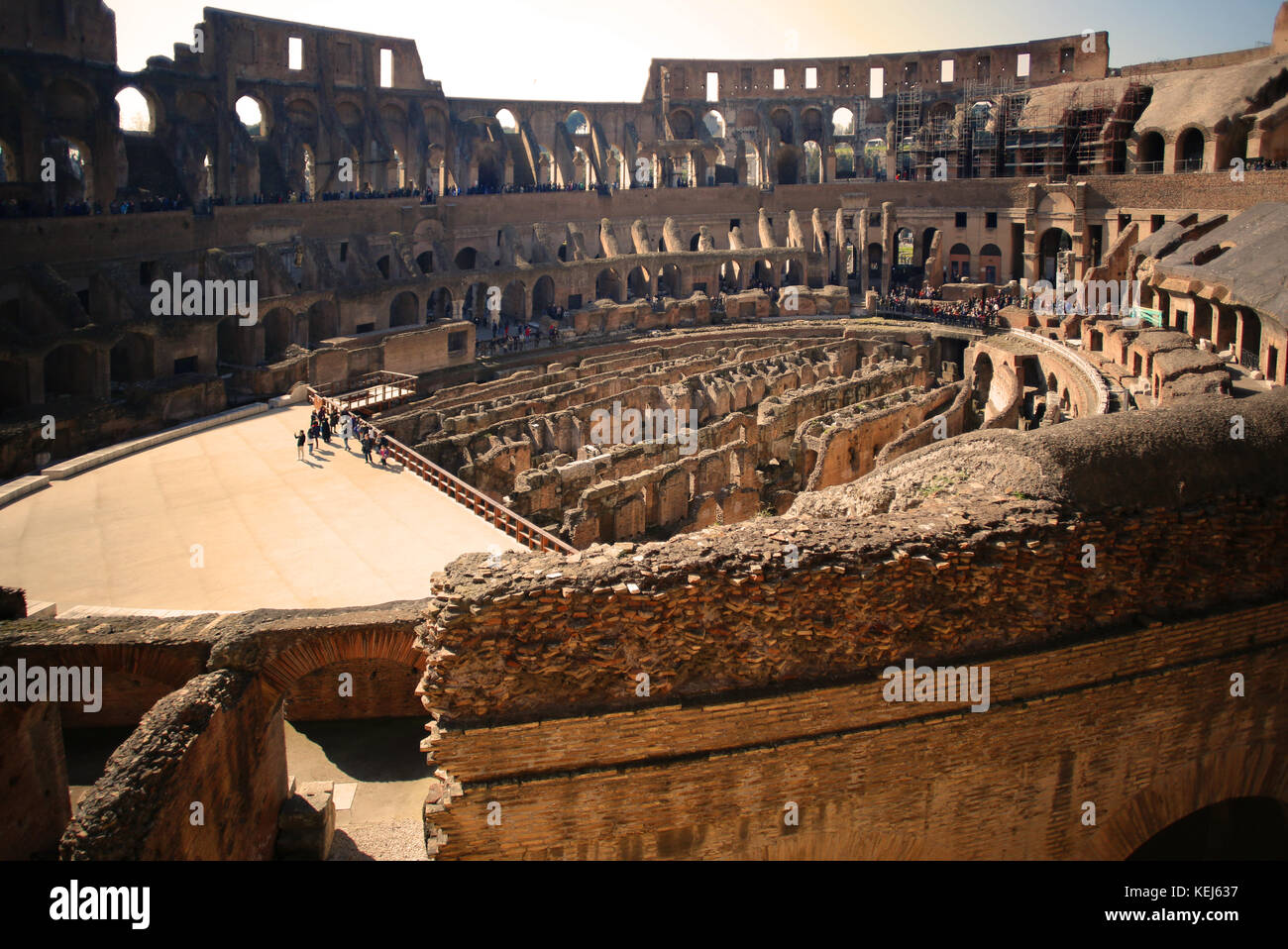 The Colosseum, Rome, Italy - Stock Image