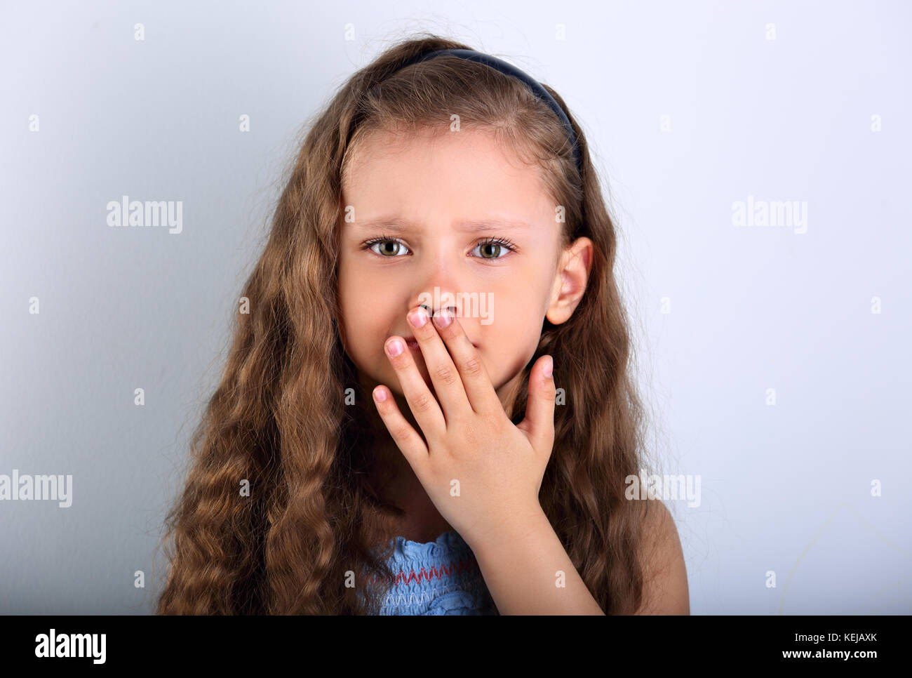 Child Afraid Face