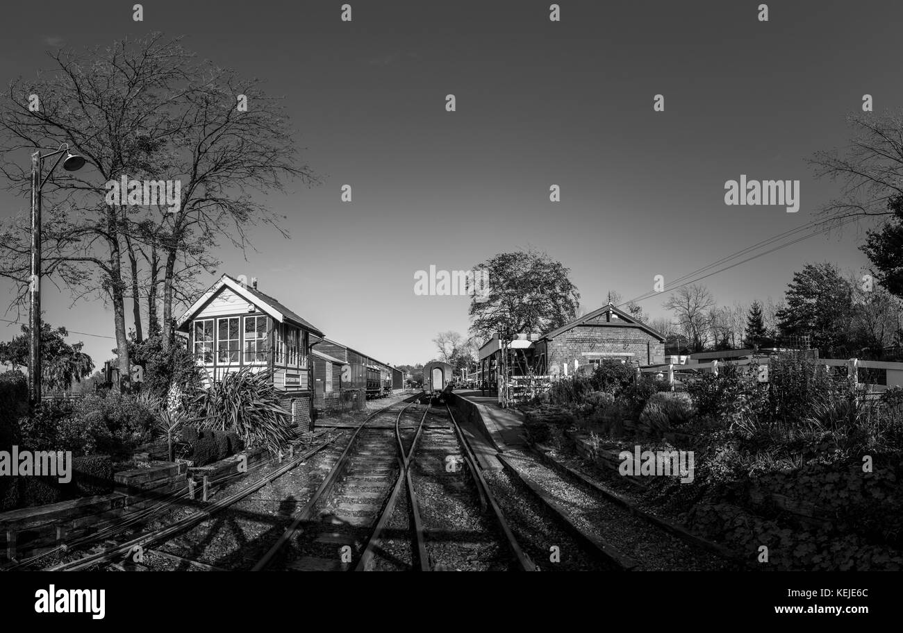 Kent s steam railway tenterden town station kent