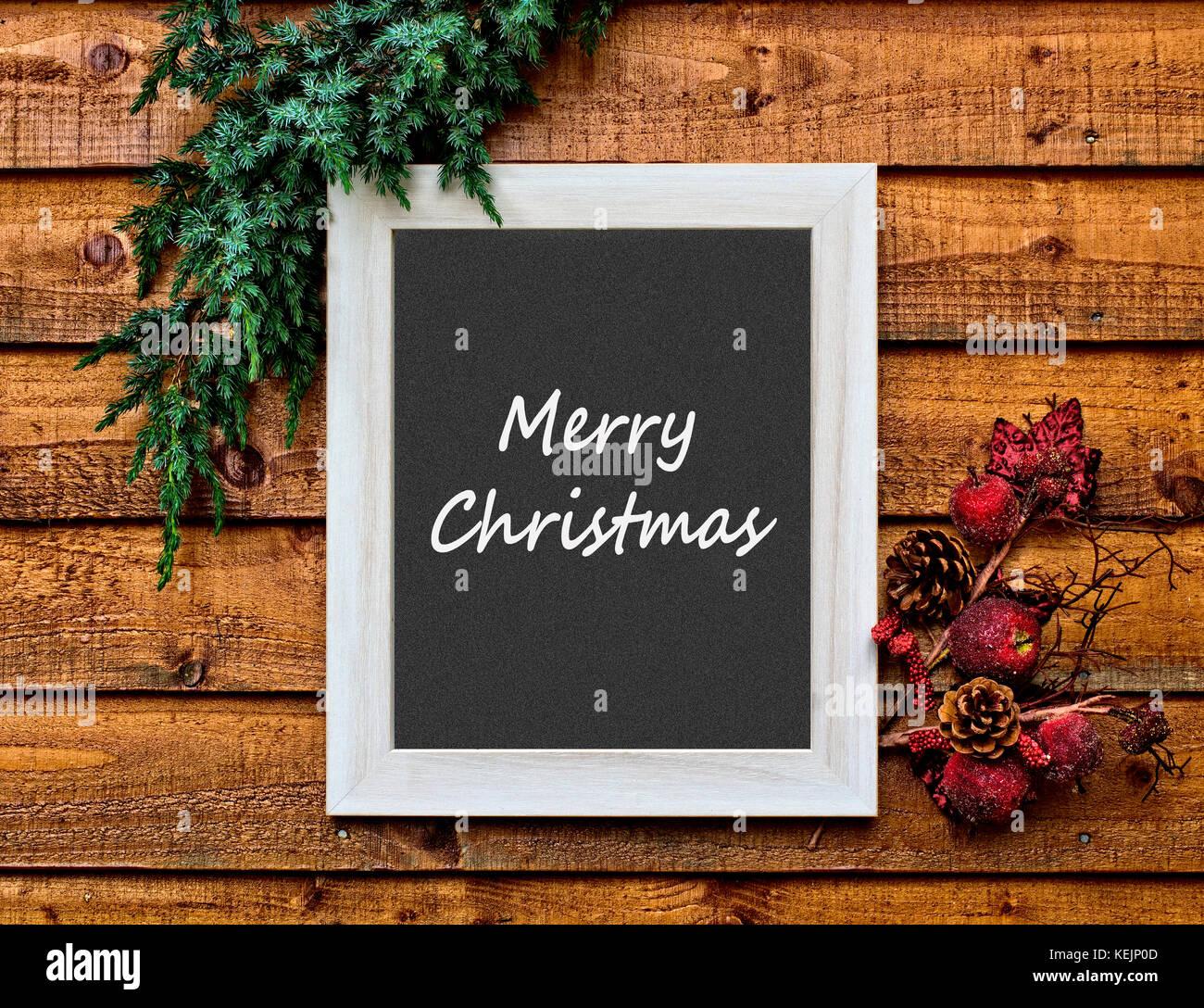 Christmas card photo - Stock Image