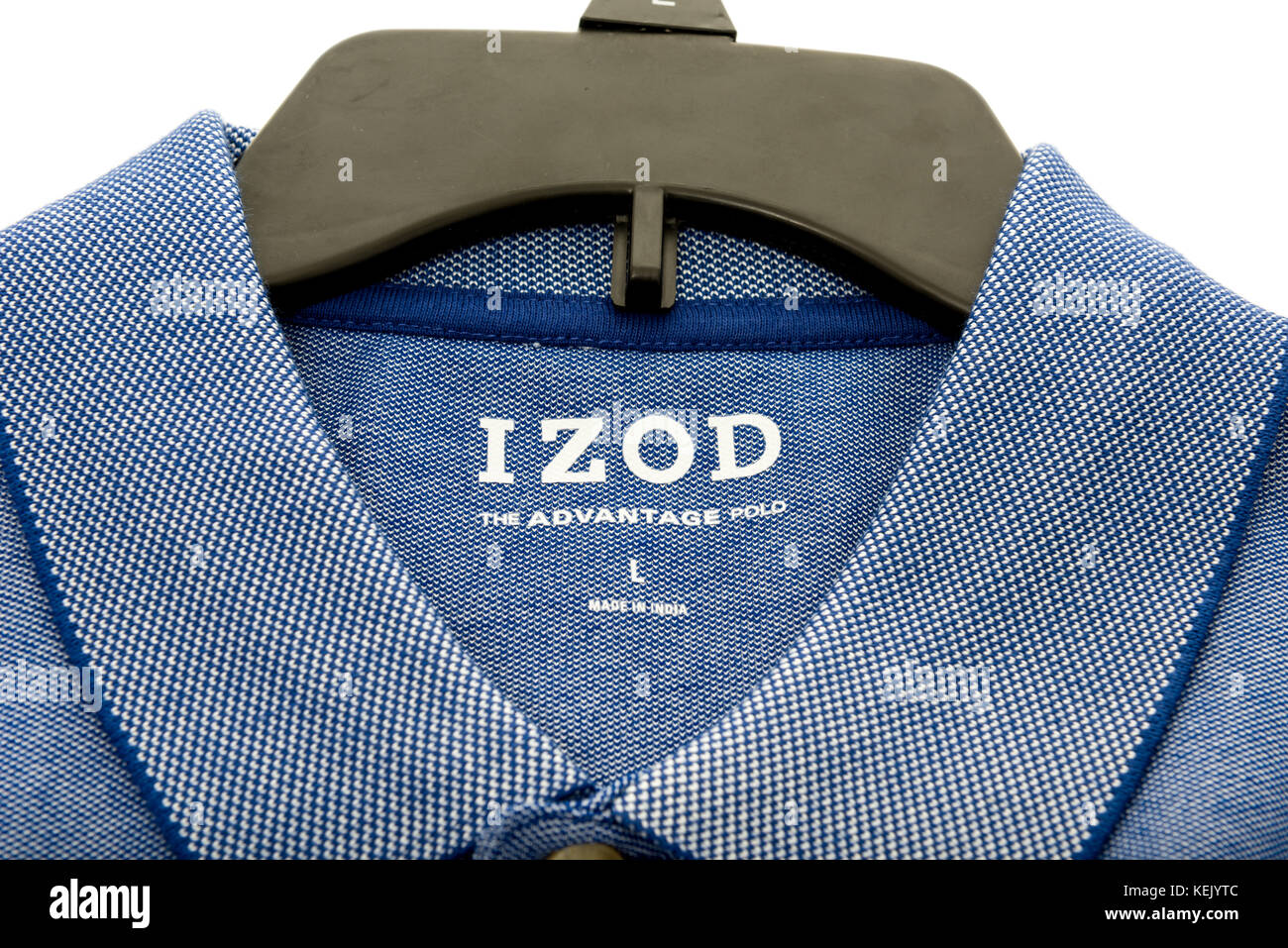 93f337ad9 Winneconne, WI - 15 October 2017: A Polo shirt featuring IZOD on an isolated