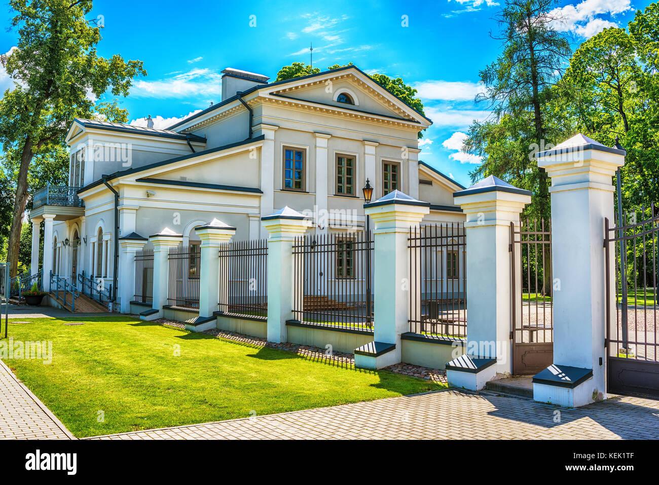 Vilnius, Lithuania: The Memorial Complex of the Tuskulenai Peace Park, where the victims of soviet NKVD-KGB repressions - Stock Image