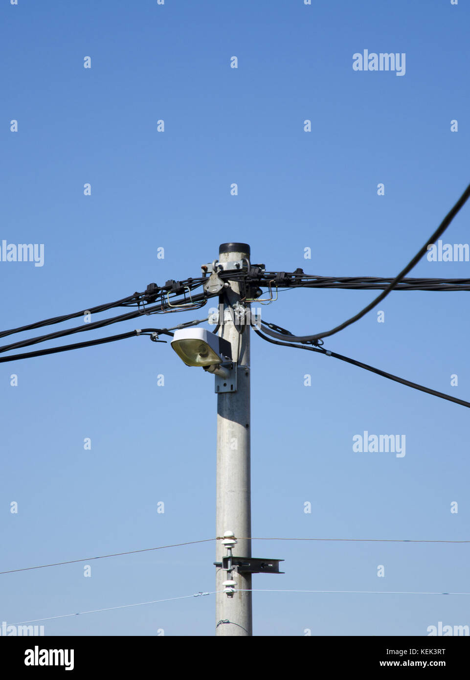 Telephone Power Wire Cables On Stock Photos & Telephone Power Wire ...