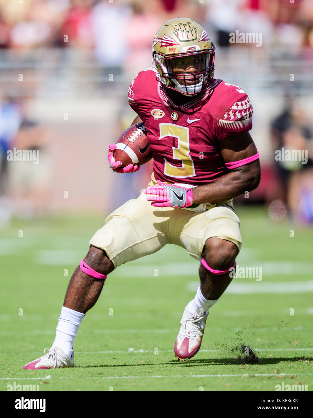Florida State Running Back Cam Akers 3 During The Ncaa College Stock Photo Alamy