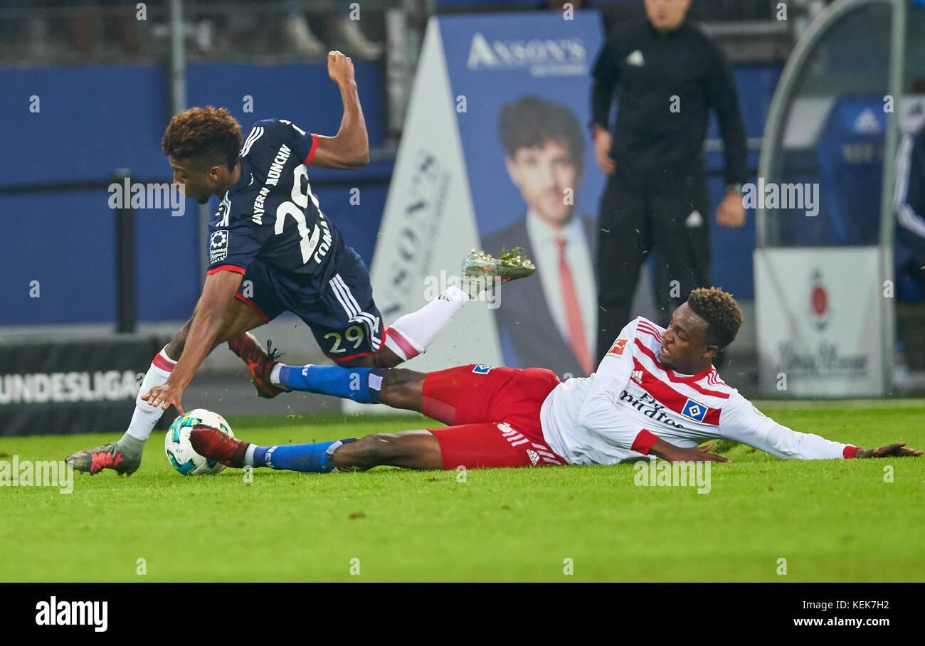 Hamburg, Germany. 21st October, 2017. 1. Div German Soccer League, Hamburg, October 21, 2017 Gideon JUNG, HSV 28 - Stock Image