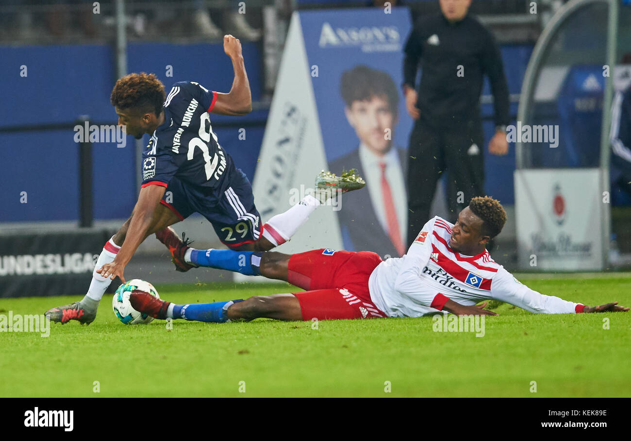 Hamburg, Germany. 21st October, 2017. 1. Div German Soccer League, Hamburg, October 21, 2017 Gideon JUNG, HSV 28 Stock Photo
