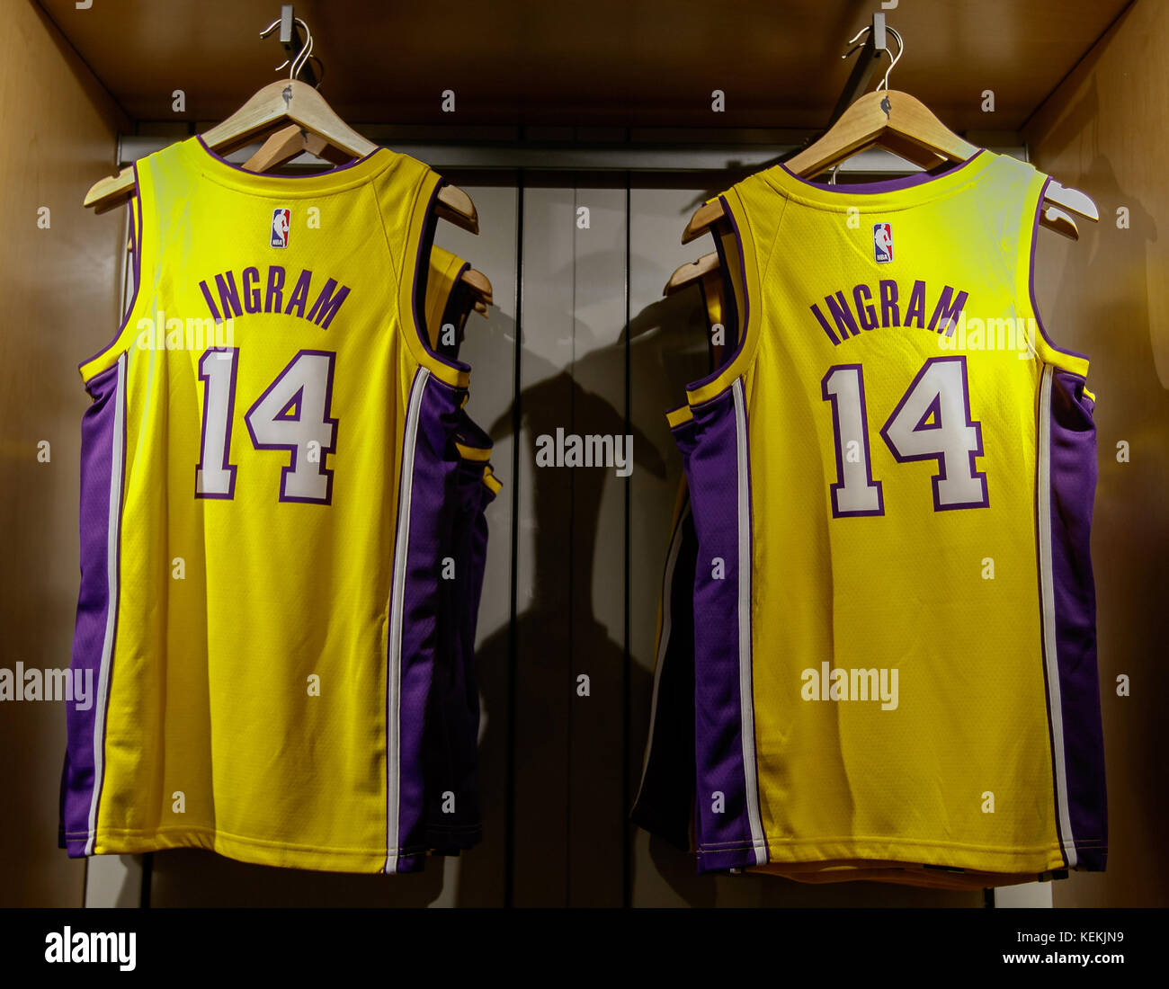 release date: 9baff 6e2c9 Lakers Jersey Stock Photos & Lakers Jersey Stock Images - Alamy