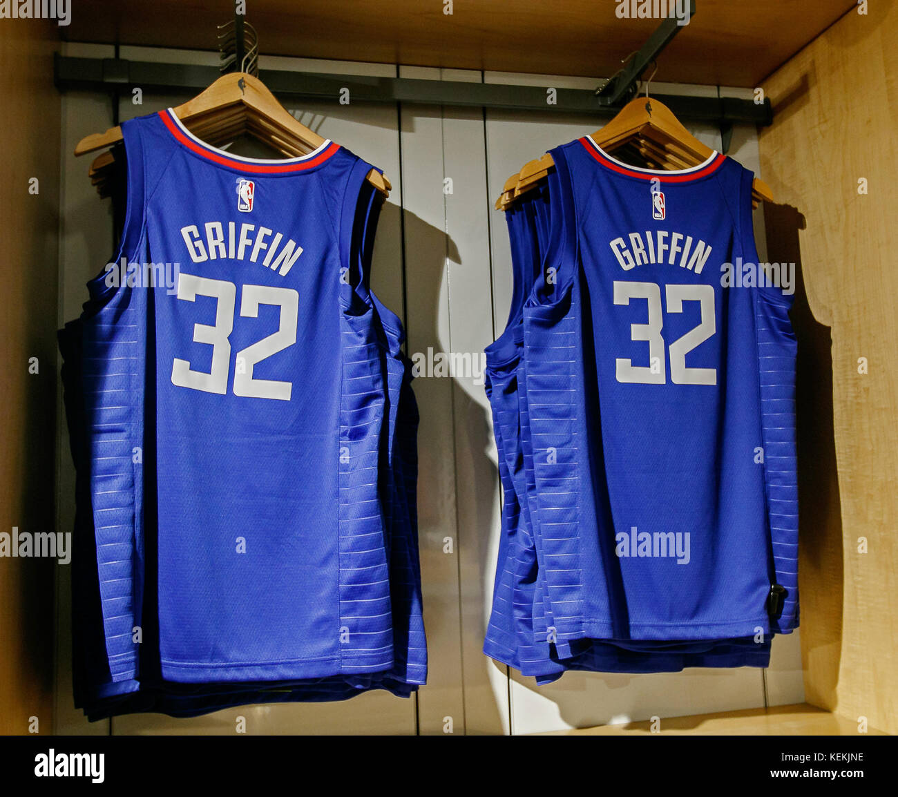 cheap for discount e2dfe 8608b Replica jersey of Blake Griffin of Los Angeles Clippers on ...