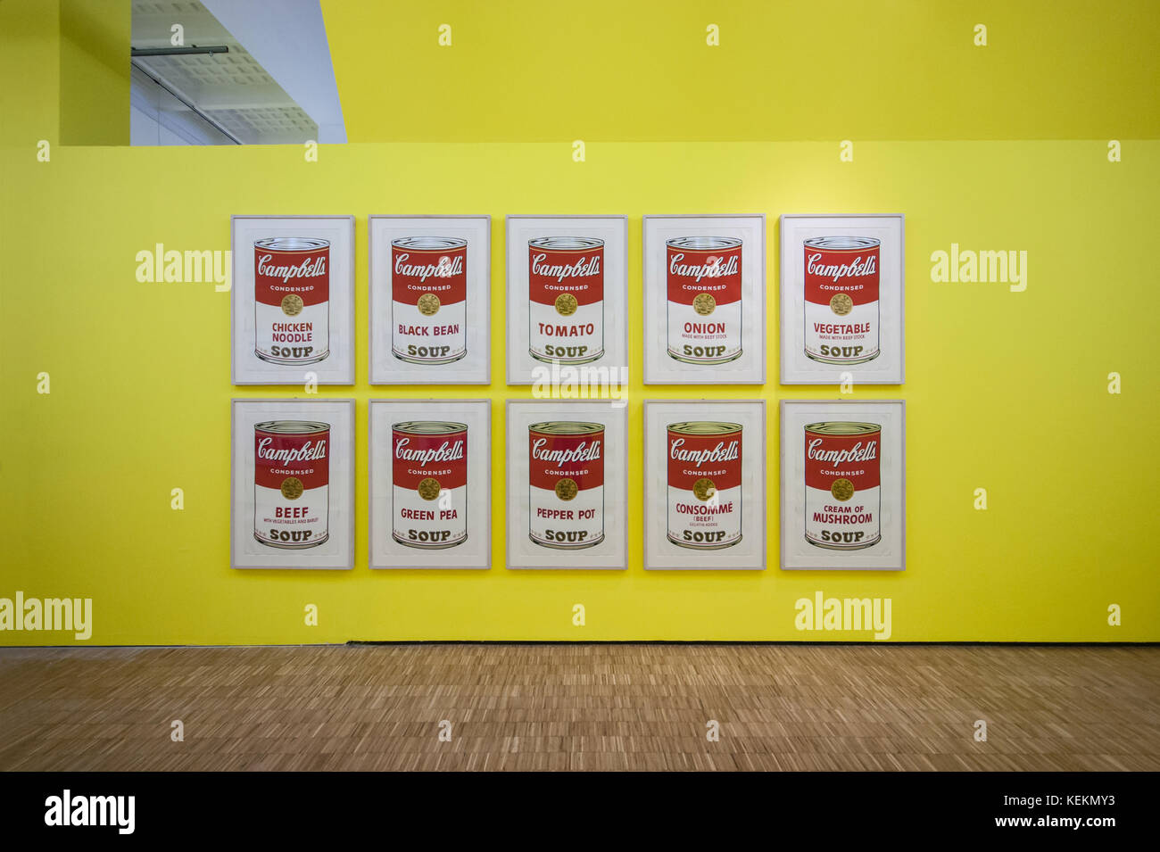 Andy Warhol Paintings Stock Photos & Andy Warhol Paintings Stock ...