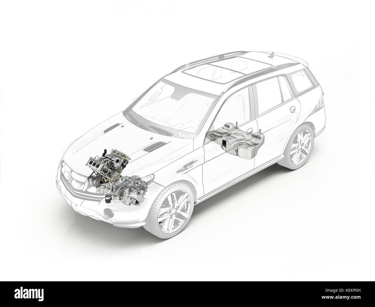 Cutaway Car Stock Photos & Cutaway Car Stock Images - Alamy