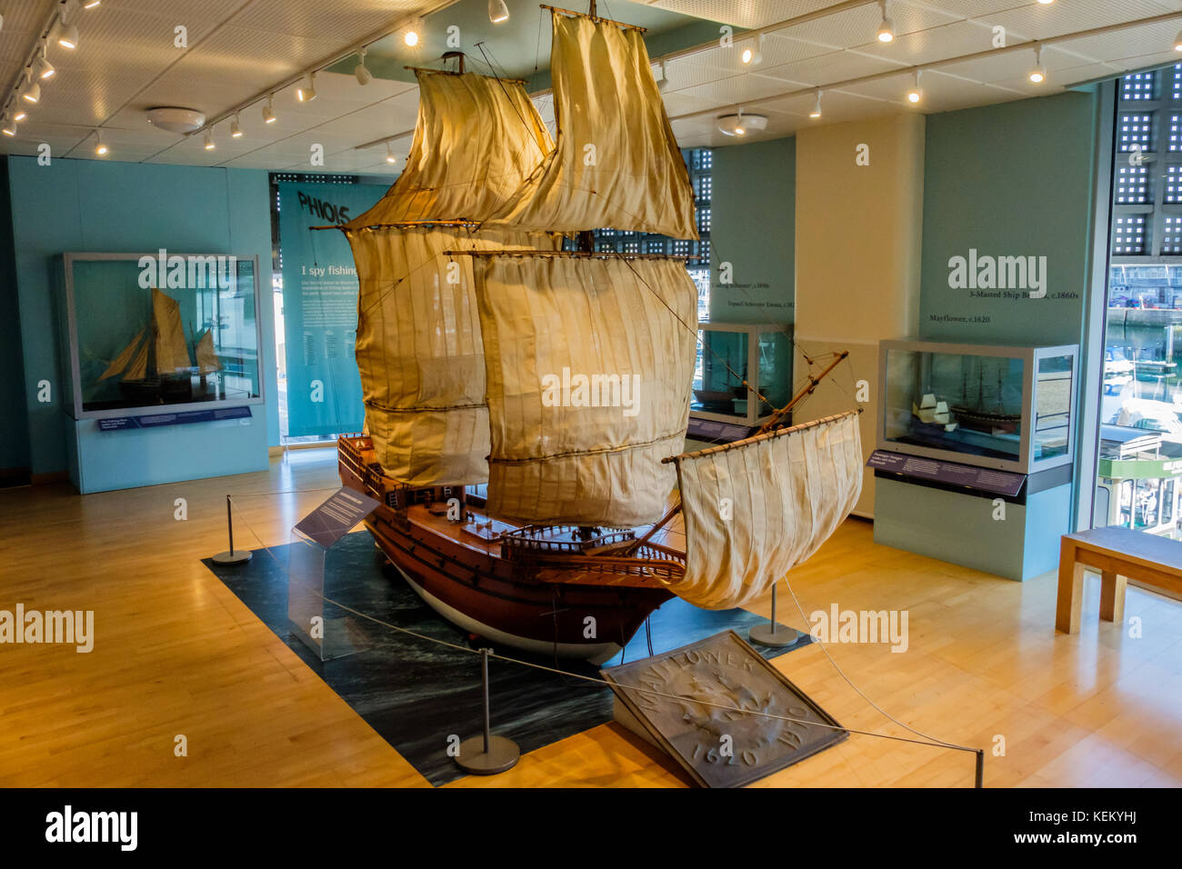 Mayflower Museum High Resolution Stock Photography And Images Alamy