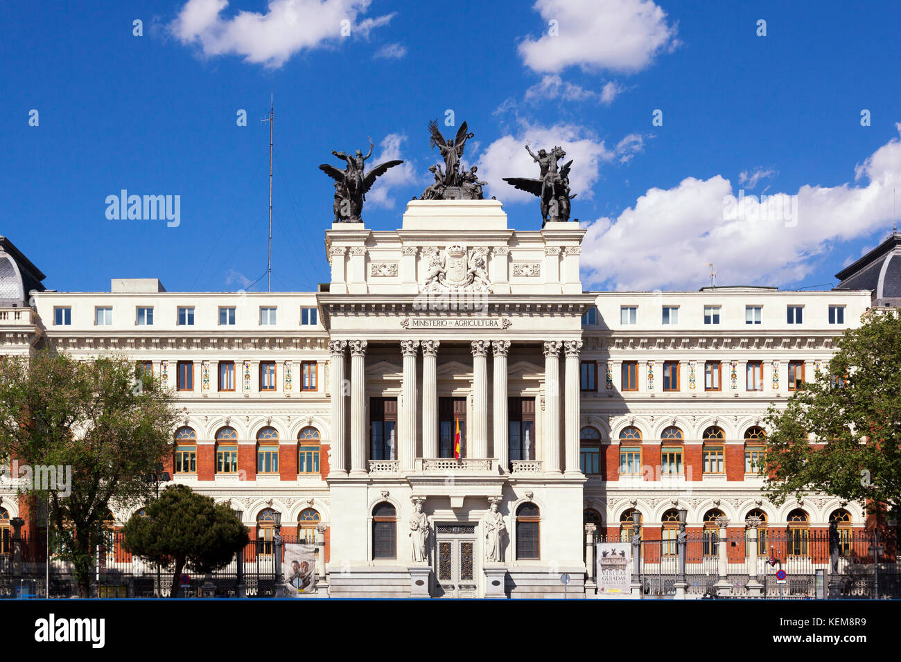 Department of agriculture in Madrid, Spain - Stock Image