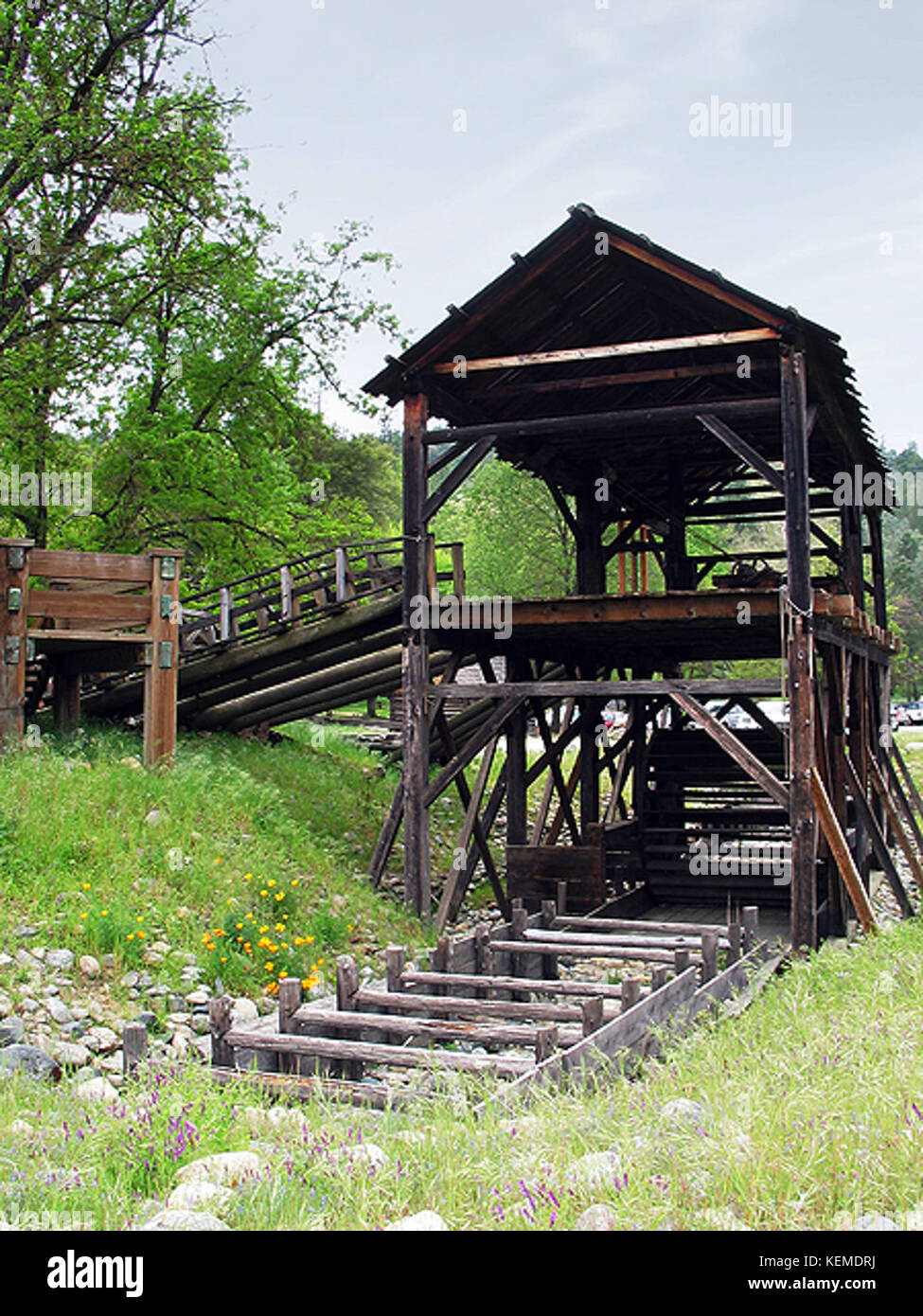 Sutters mill - Stock Image