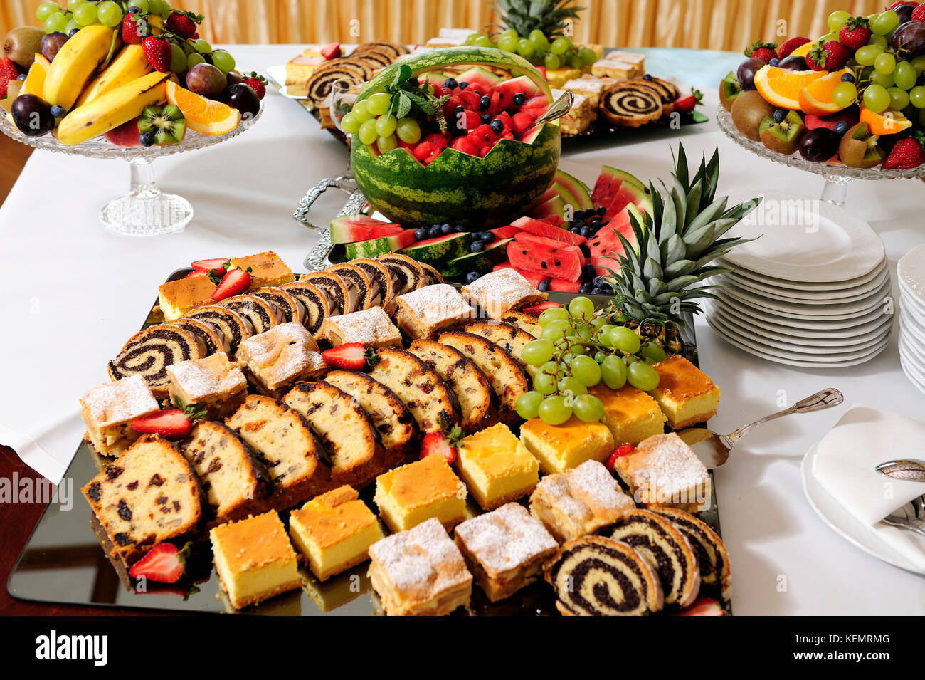 catering, food, cooked, fine art, concept, service, food-lovers, nuances, - Stock Image