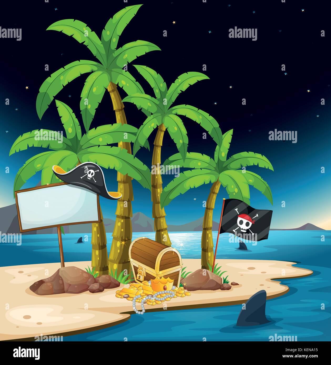 Pirate island