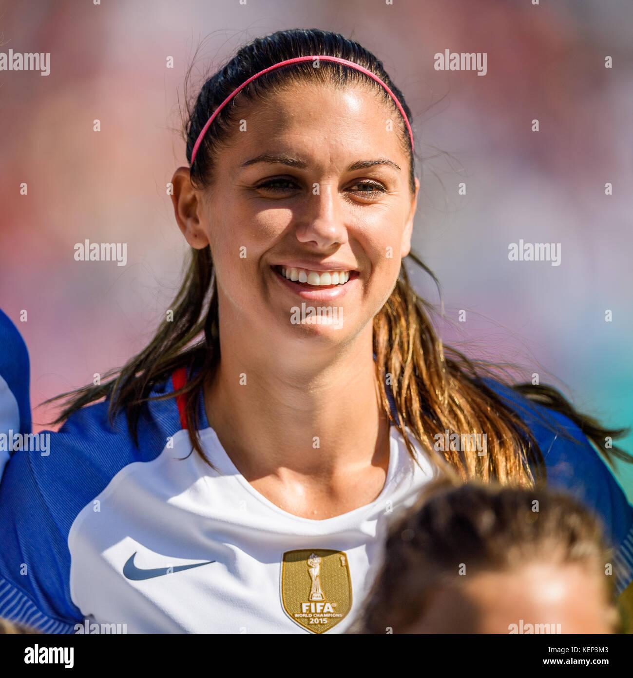 d68c45eb381 US Forward Alex Morgan (13) during the Women s International Soccer match  between Korea and