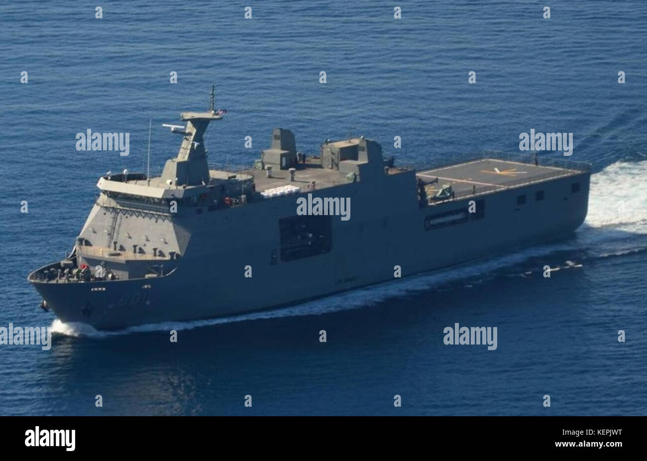 BRP Tarlac homebound - Stock Image