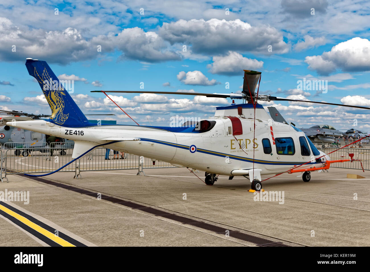 Agusta A109E Power Helicopter - Stock Image