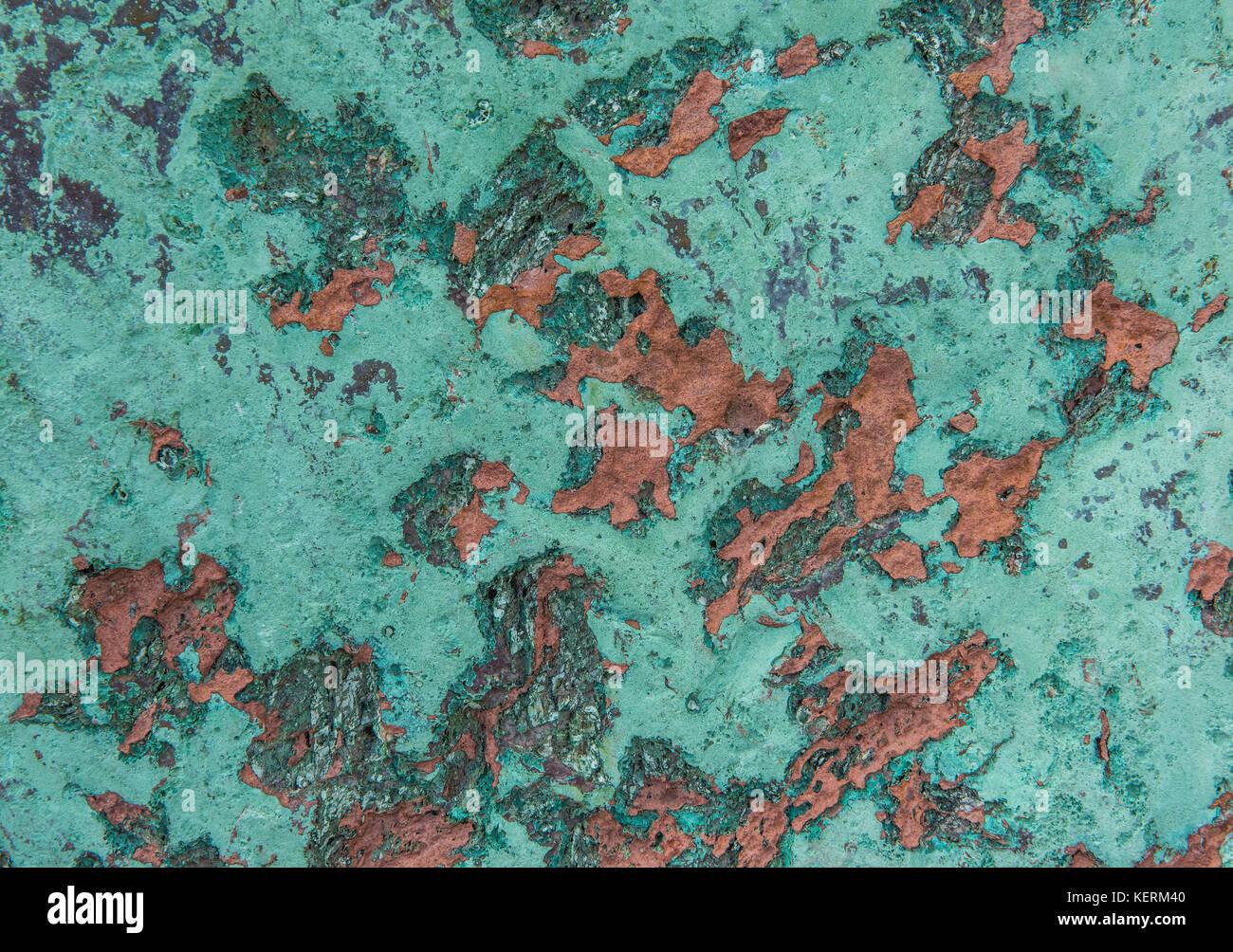 Native Copper specimen, Quincy Mine, Michigan USA by Bruce Montagne/Dembinsky Photo Associates - Stock Image