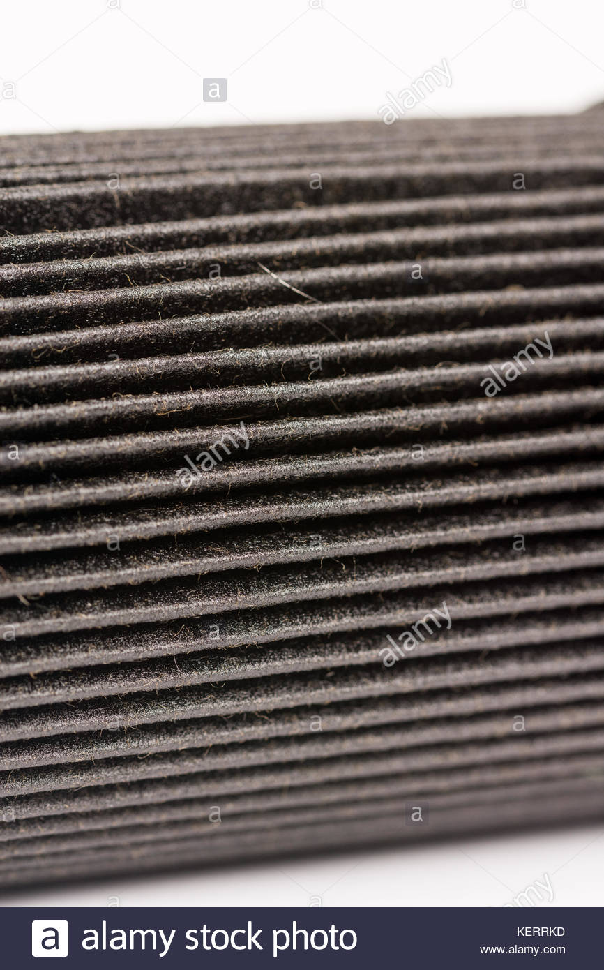 Diesel Fuel Filter Stock Photos Images Dirty On Truck Old Used And Car Isolated Above White Background Image