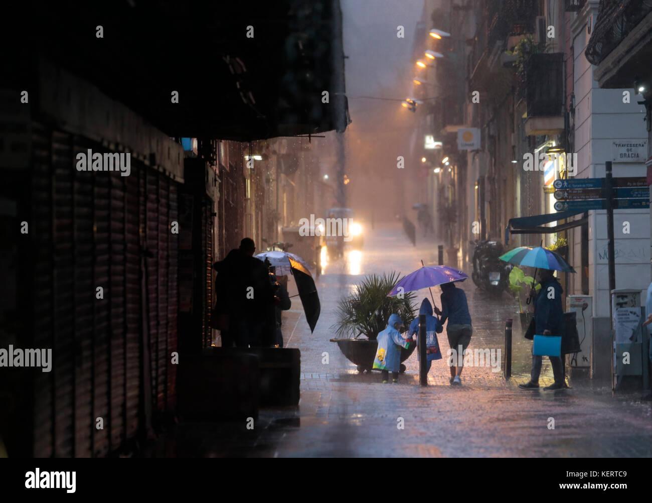 Rain Storm Street Stock Photos Amp Rain Storm Street Stock