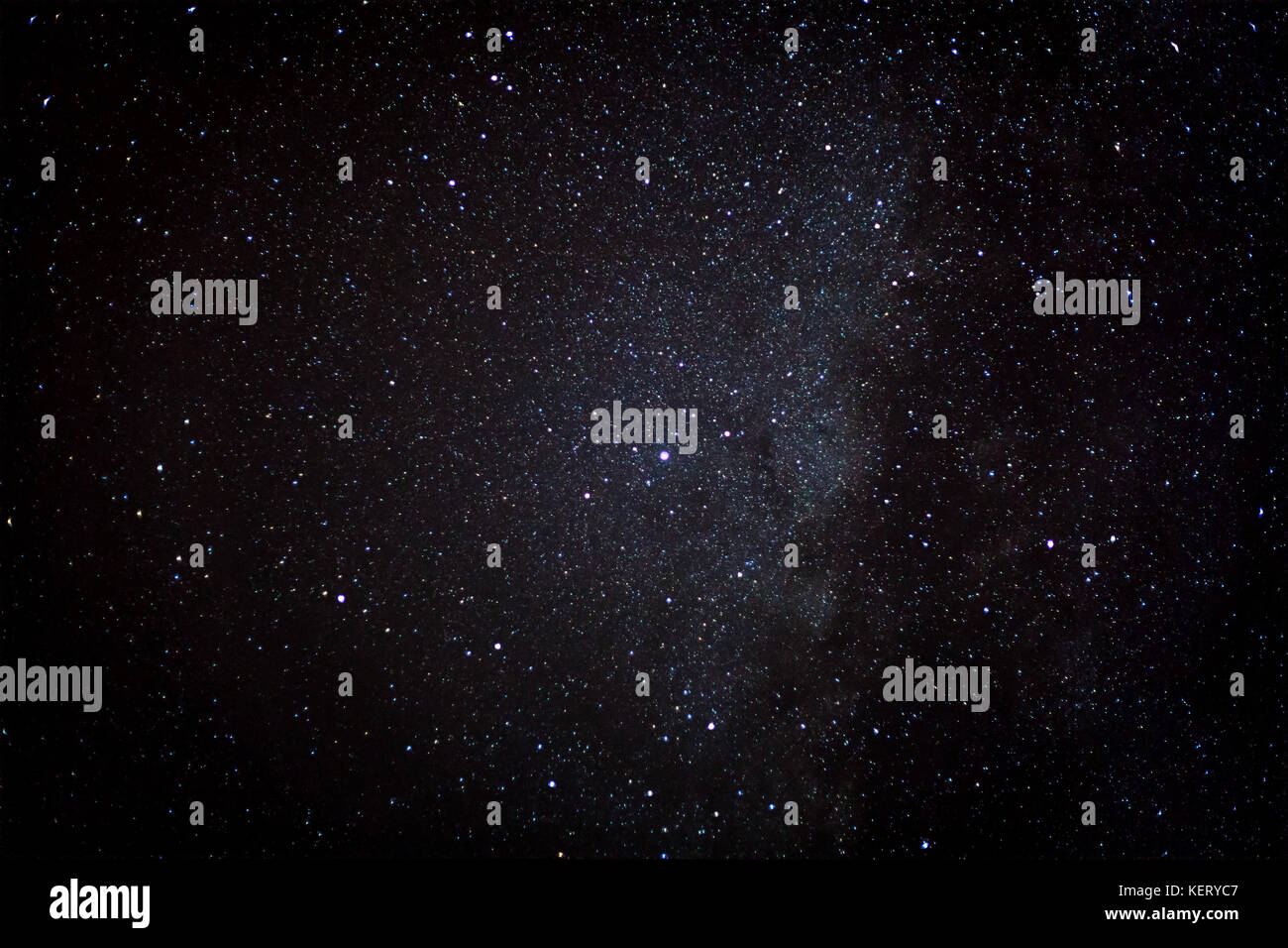 Altair is the brightest star in the constellation Aquila and the twelfth brightest star in the night sky. It is - Stock Image