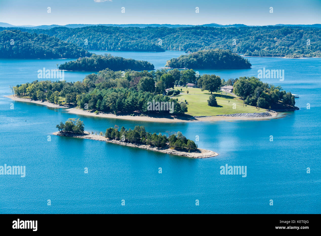 Dale Hollow Lake State Resort Park in Kentucky, USA Stock Photo