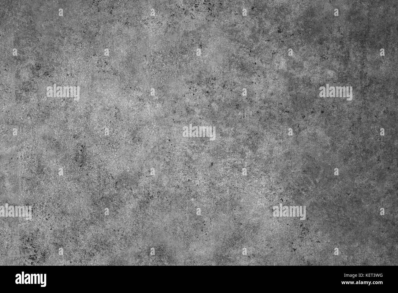 Polished old grey concrete floor texture background. - Stock Image