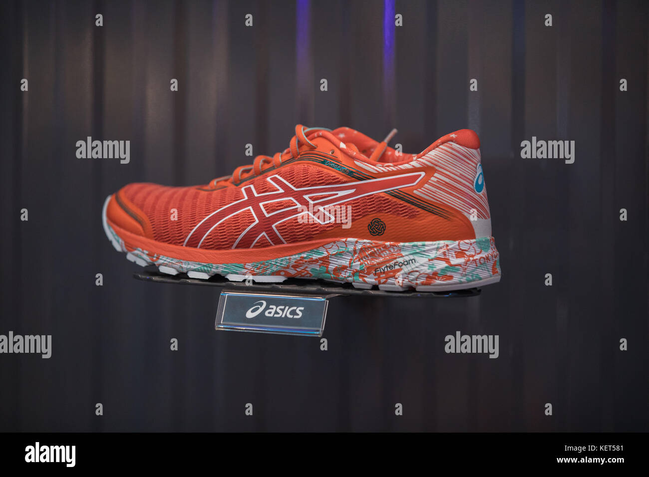 Asics stock photos asics stock images alamy nakhonratchasrimathailand august 06 2017 asics shoes sports running at asics stores buycottarizona Images
