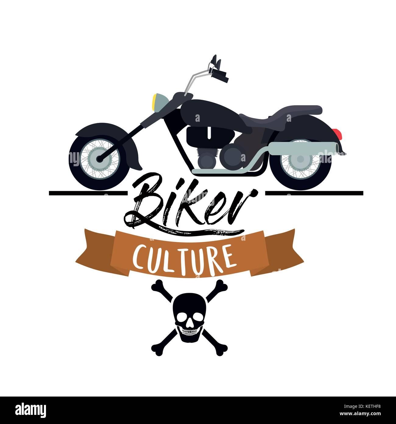 Symbol Of Motor Biker Stock Photos & Symbol Of Motor Biker Stock ...