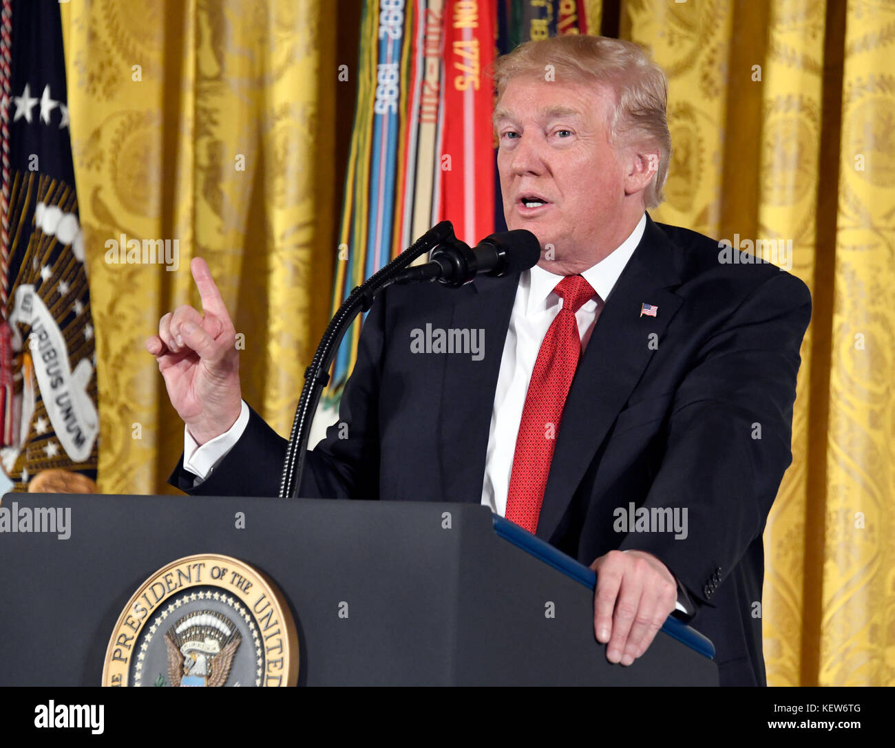 f84600e39 United States President Donald J. Trump makes remarks as he presents the  Medal of Honor