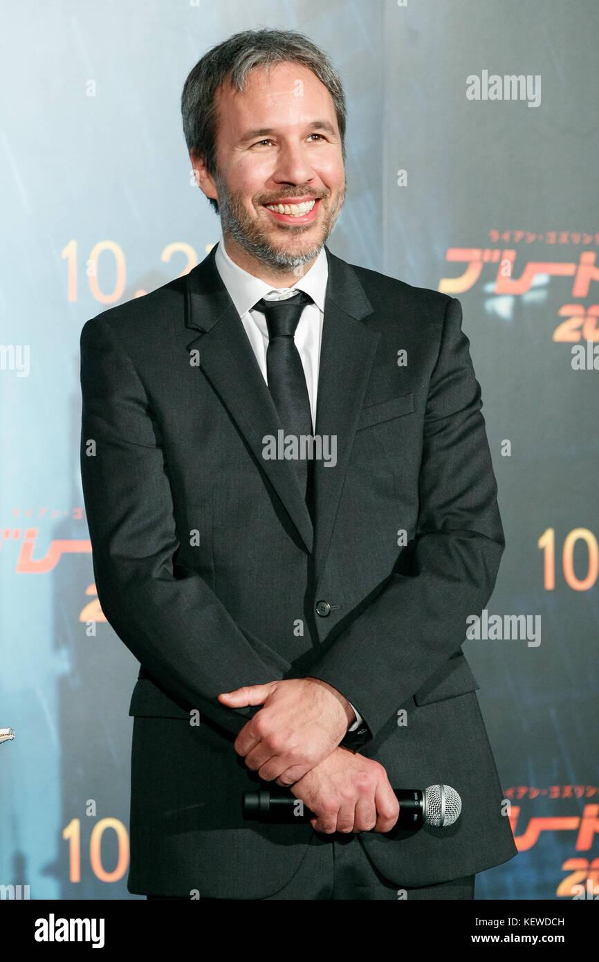Tokyo, Japan. 23rd October, 2017. Director Denis Villeneuve attends a Japan Premiere for the film Blade Runner 2049 - Stock Image