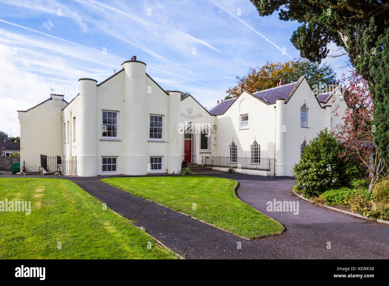 Trefecca College near Talgarth, Powys, Wales UK - Stock Image