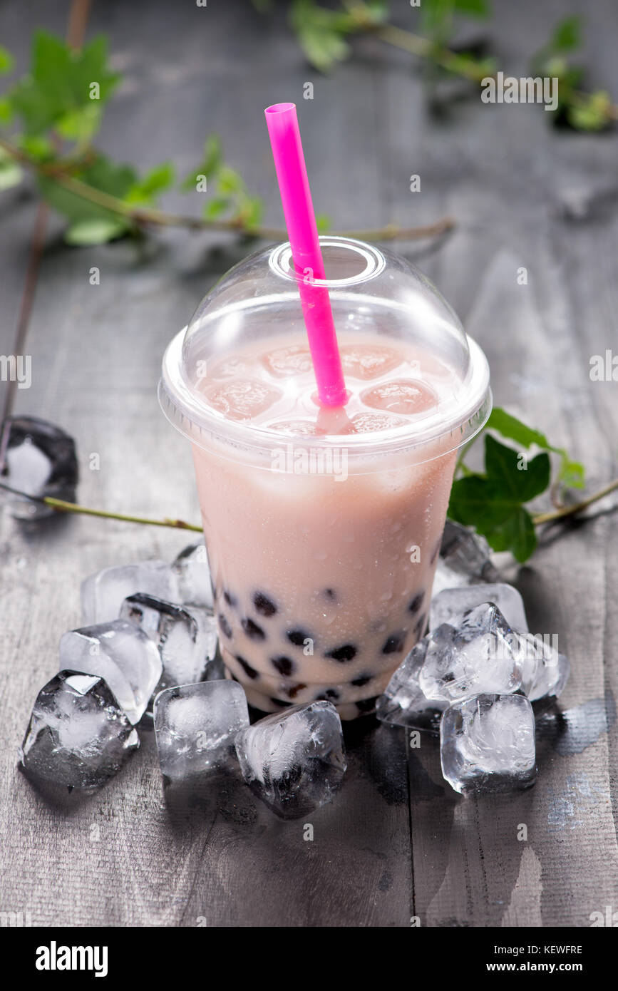 ice tea with pearls makidotvn stock depositphotos photo milk