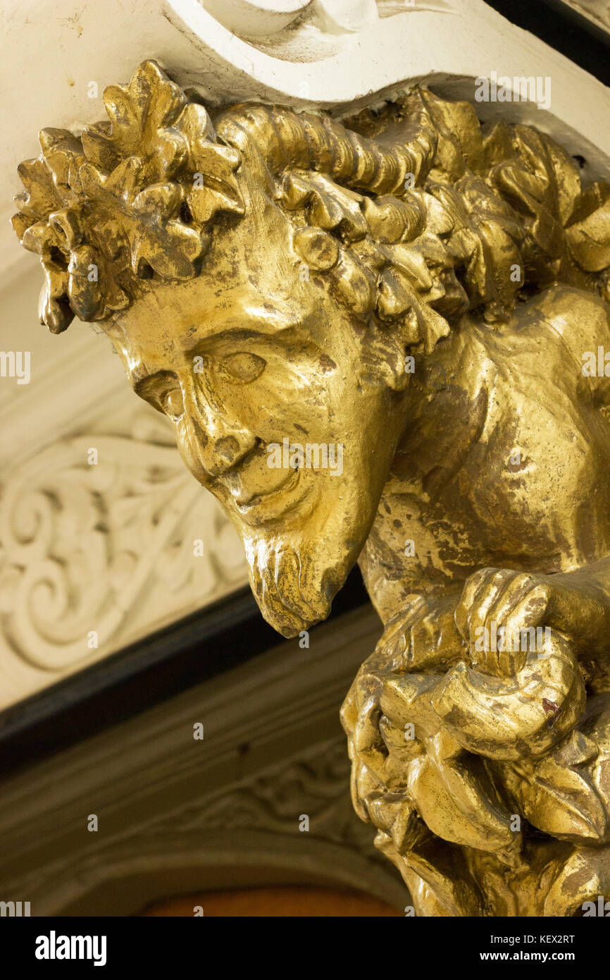 Golden Satyr - Stock Image