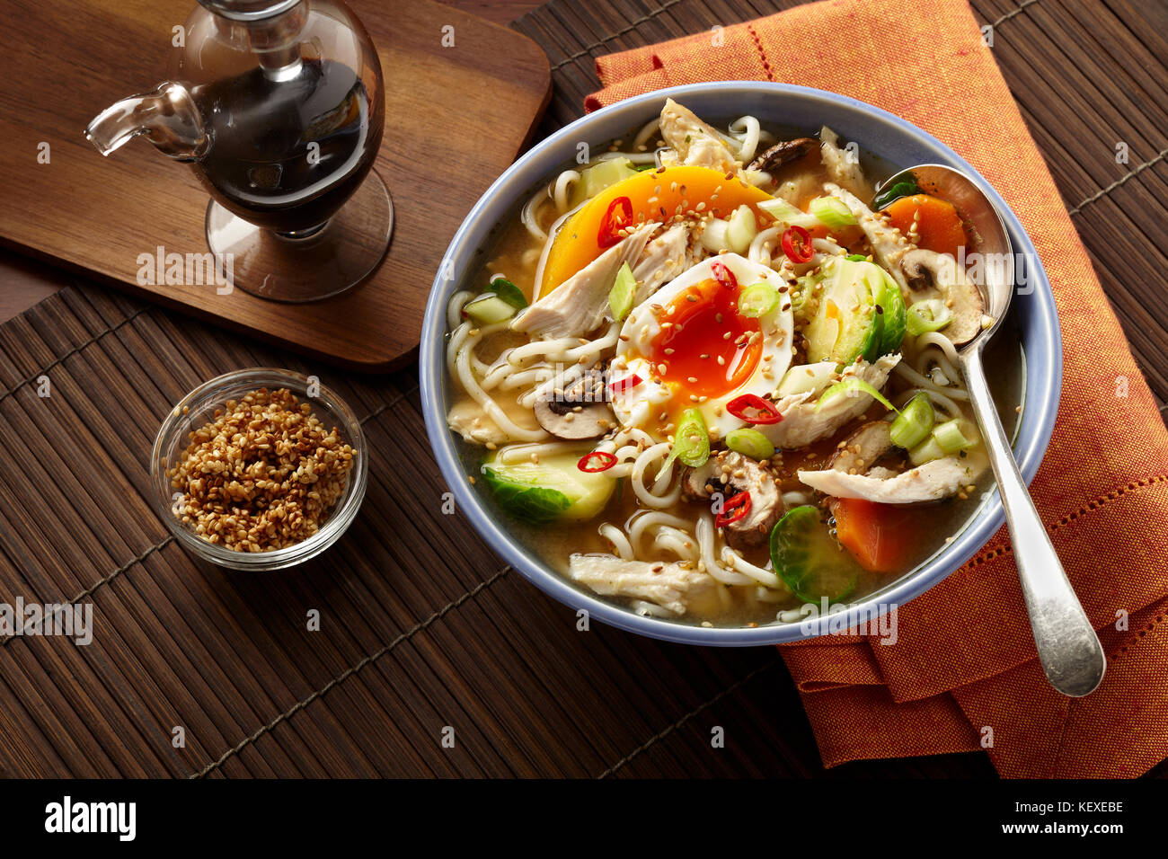 Turkey ramen - Stock Image