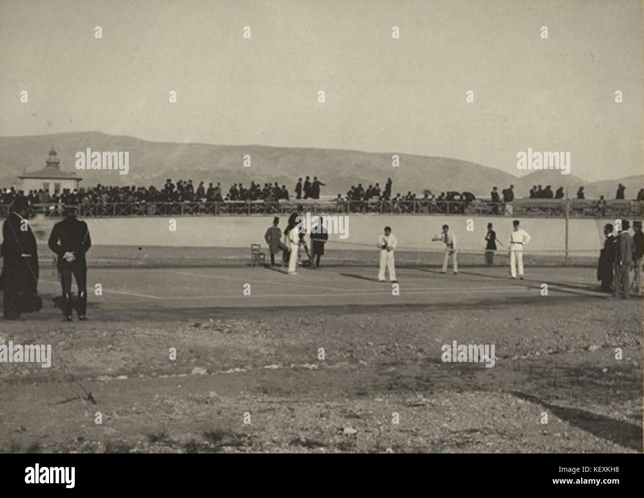 3K 7 422 11 1896 Summer Olympics Stock Photo