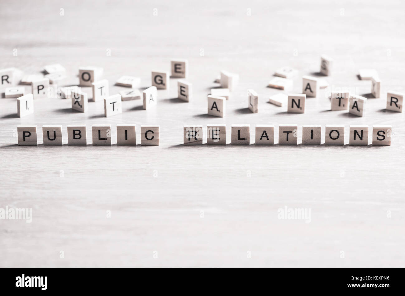 Society and public relations Stock Photo
