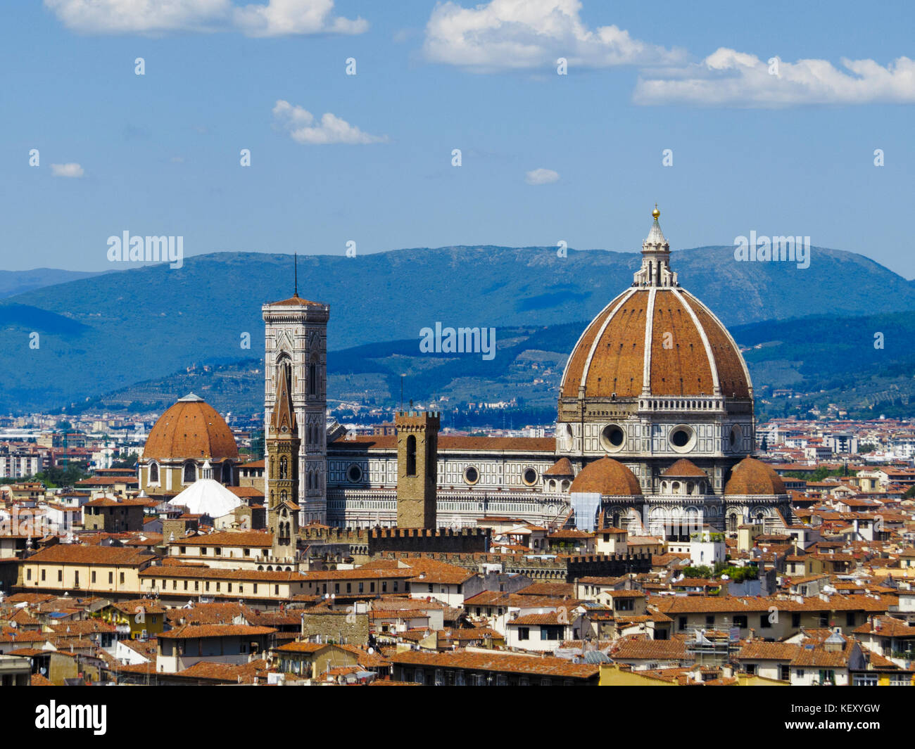 Il Duomo di Firenze (Florence Cathedral). Florence, Tuscany, Italy. - Stock Image