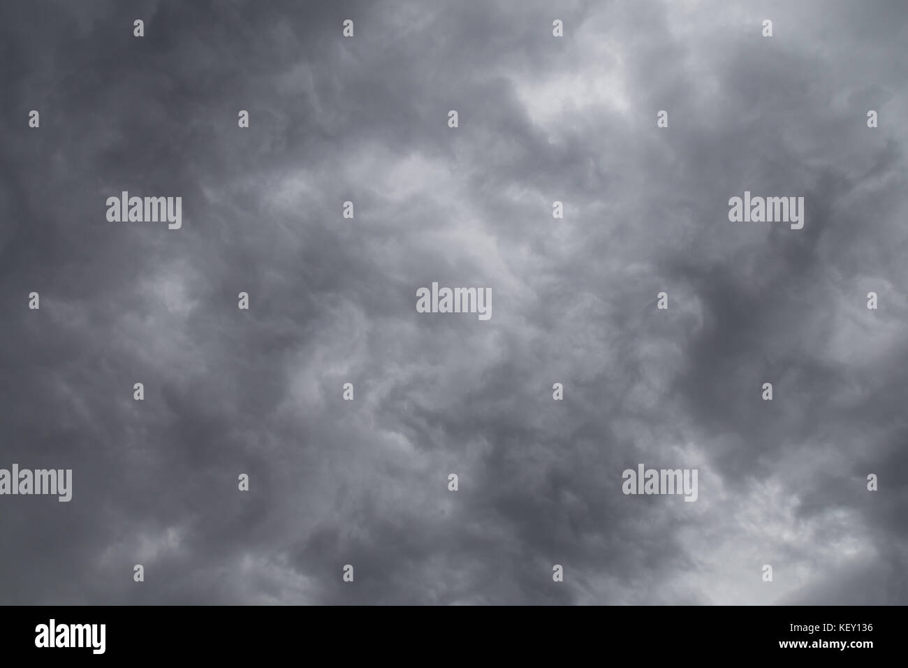 natural rain cloud on the sky before raining, dramatic cloudscape. - Stock Image
