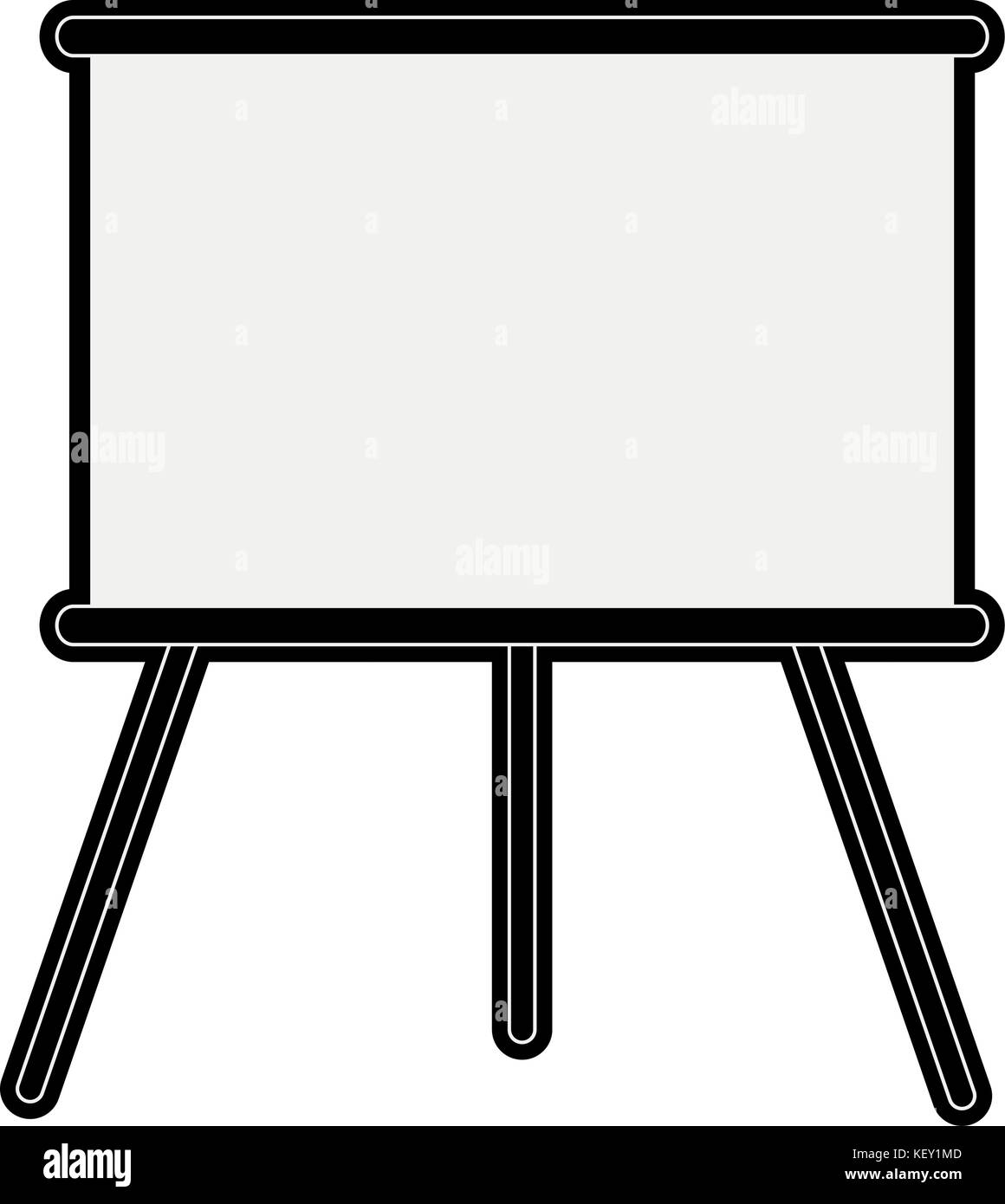 Blank business presentation - Stock Image