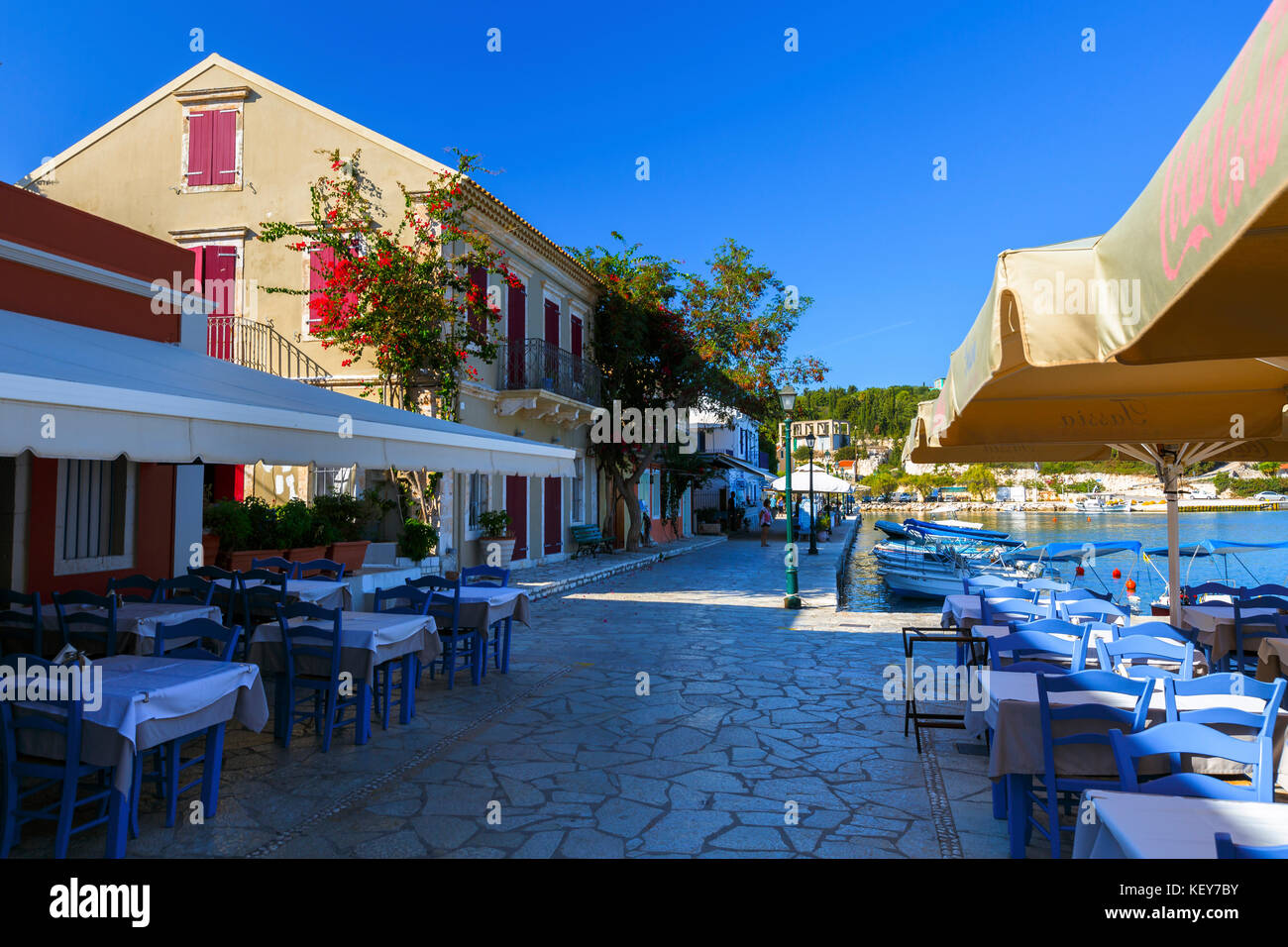Fiskardo Kefalonia Stock Photos & Fiskardo Kefalonia Stock Images ...